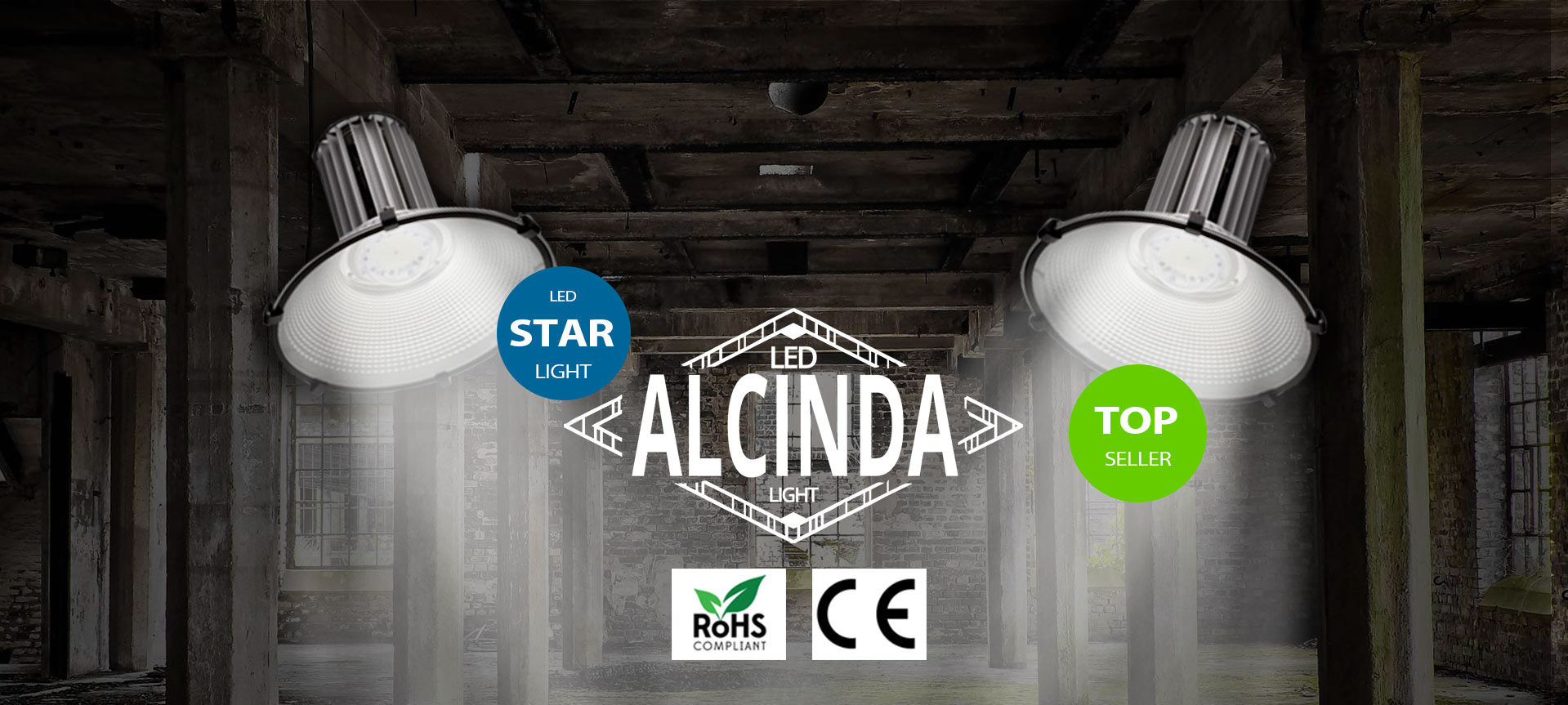 Alcinda Licht LED Banner
